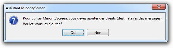 MinorityScreen - Assistant