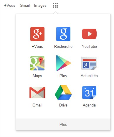 Lanceur d'applications Google